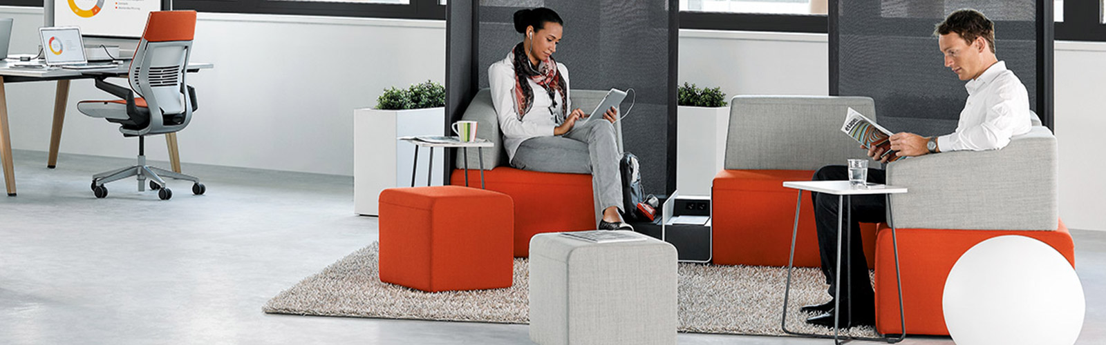 The best furniture to include in a co-working space to boost collaboration and productivity