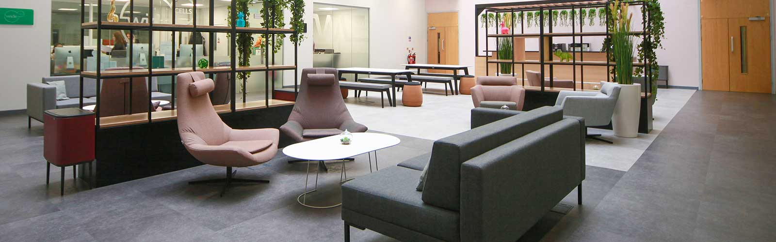 Office refurbishment companies case study in Liverpool and Manchester