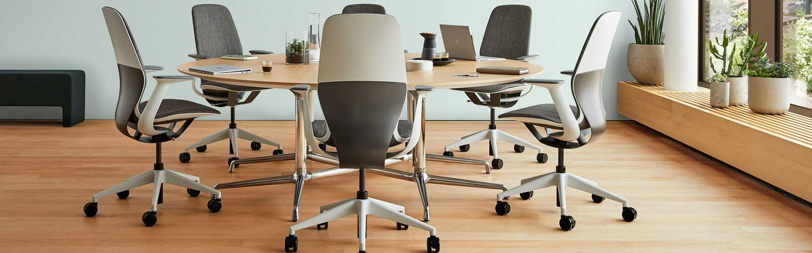 Steelcase Silq Chair in the timeline of when the office chair was invented