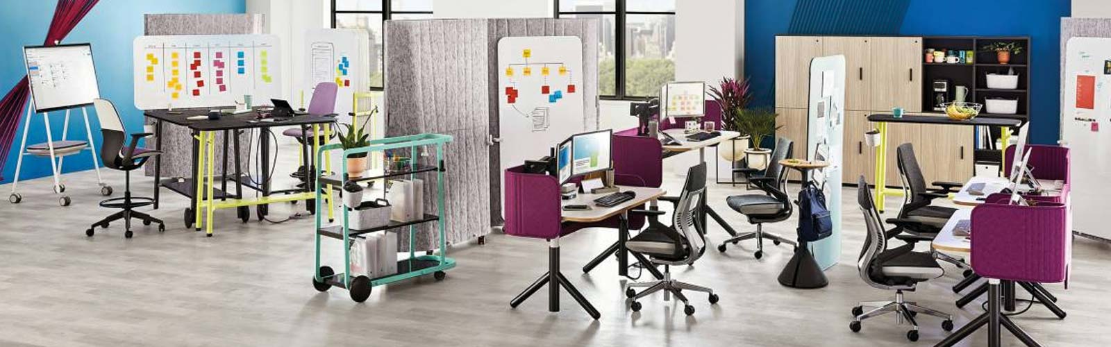 Steelcase Flex furniture