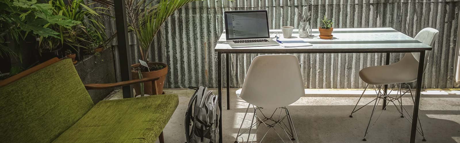 The benefits of an outdoor workspace