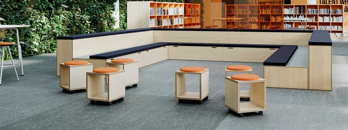Behind the bleachers: exploring tiered seating in the office post image image