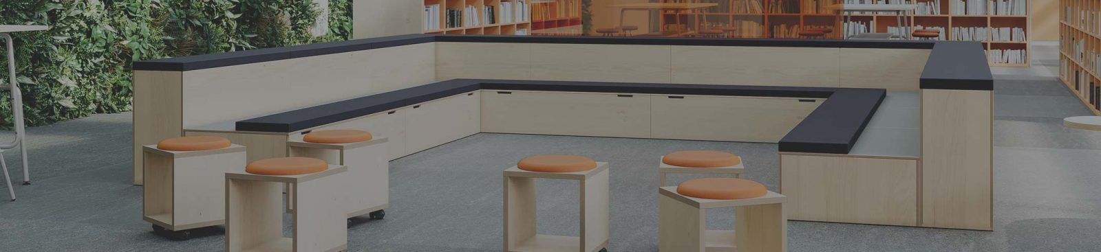 Behind the bleachers: exploring tiered seating in the office image