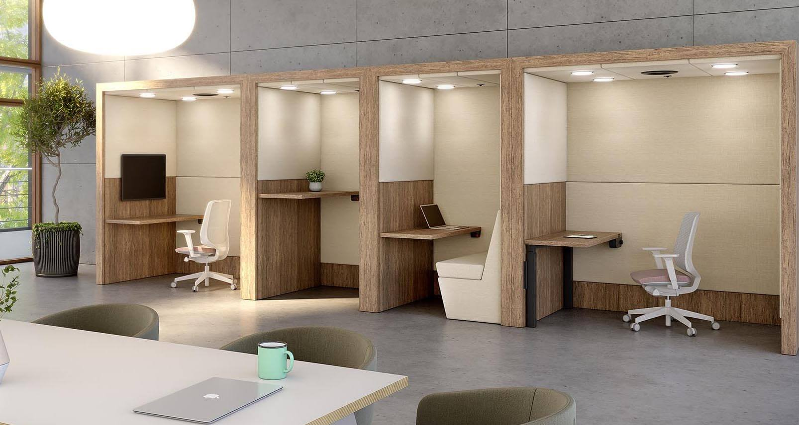Spacestor Portals for Zoom call privacy and limiting noise disruption in the office