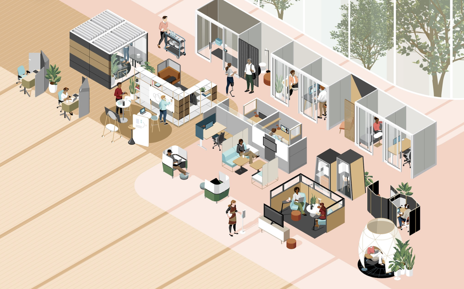 What the post pandemic workplace will look like according to Steelcase